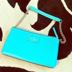 Turquoise Kate spade shoulder bag